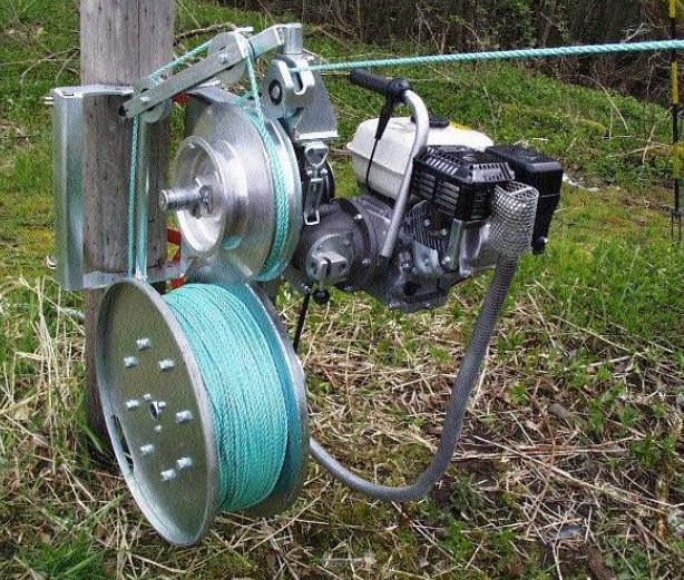 Как сделать электрическую лебедку
